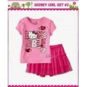 Disney Set  HK Pink+tutu skirt