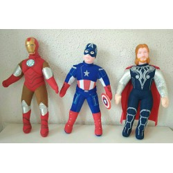 Superheroes doll