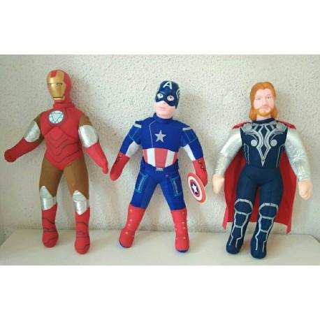 Superheroes doll
