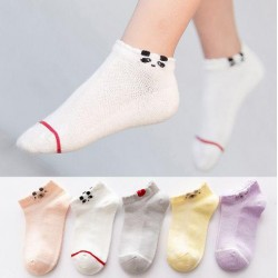 Animal Short Girls Socks