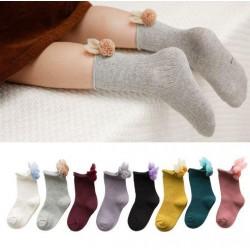 Bunny Pom-Pom Socks