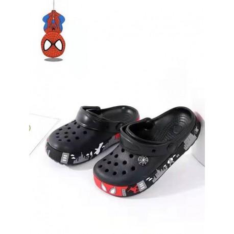 Black Spiderman Rubber Shoes