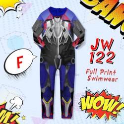 JW Optimus Prime Long Swimsuit
