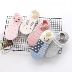 Polka Stripe Animals Socks