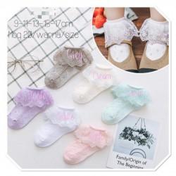 Pastel Lace Socks