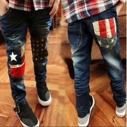 Stars Stripe Jeans
