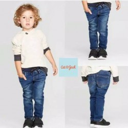 Cat&Jack Blue Skinny Elastic Waist Jeans