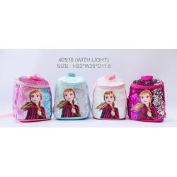 Anna Frozen 2 Flip Sequin LED Backpack