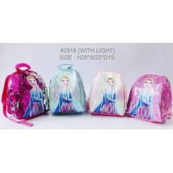 Elsa Frozen 2 Flip Sequin LED Backpack