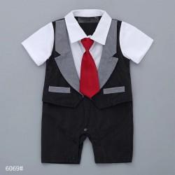 Black Tie Romper