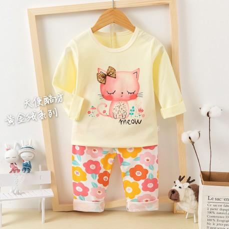 Yellow Cat Pyjamas