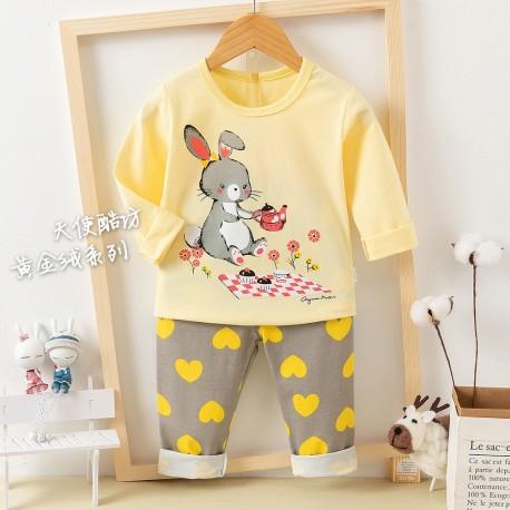 Yellow Bunny Pyjamas