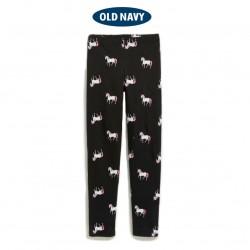 OldNavy Black Unicorn Leggings