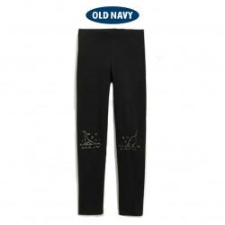 OldNavy Black Norwhale Leggings