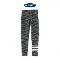 OldNavy Charcoal Stripe Leggings