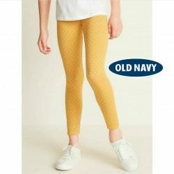 OldNavy Yellow Polkadot Leggings