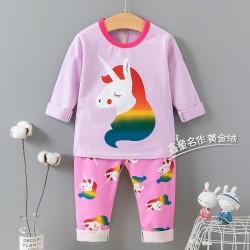 Purple Rainbow Unicorn Pyjamas
