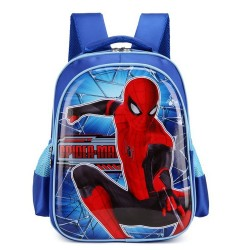 Blue Spiderman Large Backpack (Size SD)