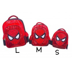 Spiderman Lamp Sequin Backpack