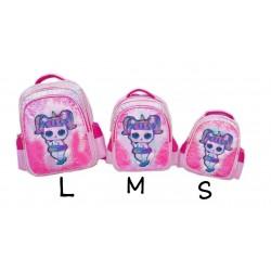 Pink LOL Surprise Lamp Sequin Backpack