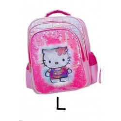 Pink HelloKitty Lamp Sequin Backpack