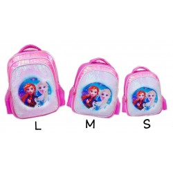 Pink Frozen Fur Sequin Backpack