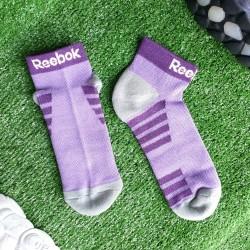Reebok Purple Ankle Socks