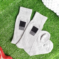 Grey Long Socks