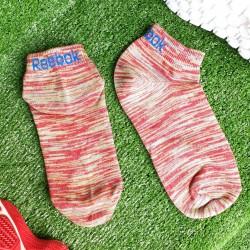 Reebok Orange Ankle Socks