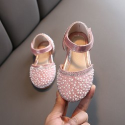 Pink Pearl Sparkly Shoes