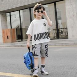White Tee Boy Set Jeans