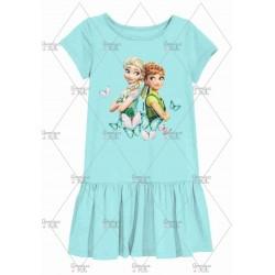 Tosca Elsa Anna Butterfly Frozen Dress