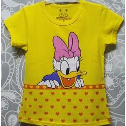 Yellow Heart Daisy Duck