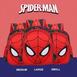 Spiderman Head 3D Backpack (Waterproof)