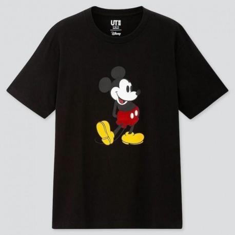 Uniqlo UT Black Mickey Mouse T-shirt