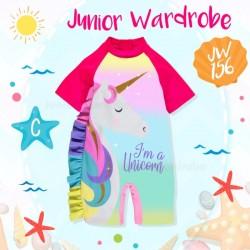 JW Unicorn Ruffle Swimsuit