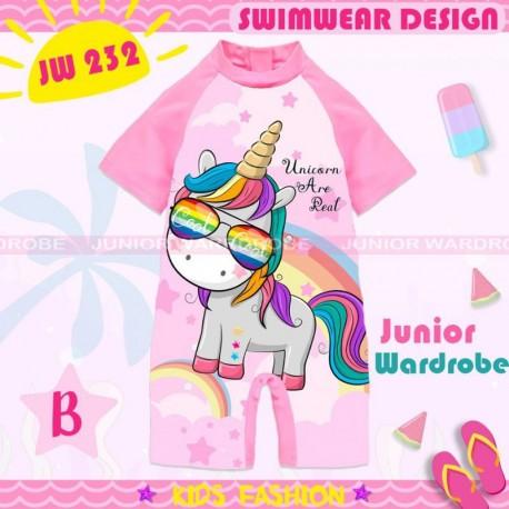 JW Unicorn Eyeglasses Swimsuit