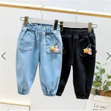 Black Bunny Star Jeans