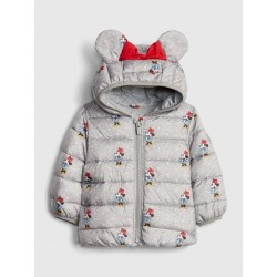 Gap Grey Minnie Puffer Jackets