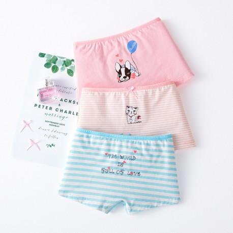 3pcs Cute Pet Boxer Underwear
