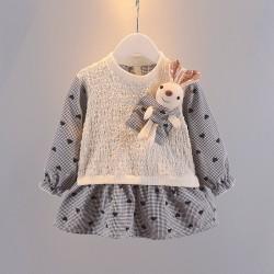 Black Heart Bunny Doll Dress