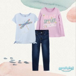 3in1 Senshukei Dragonfly Brave TShirt Set Jeans