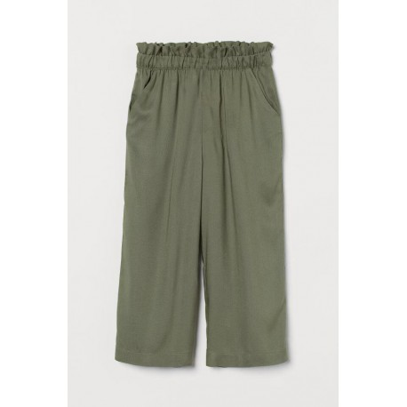 H&M Olive Green Wide Pants