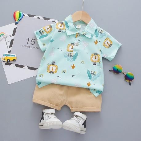 Tosca Lion Shirt Set Pants