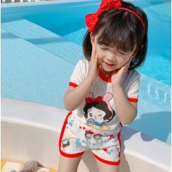 Disney Cute Snow White Set Shortpants