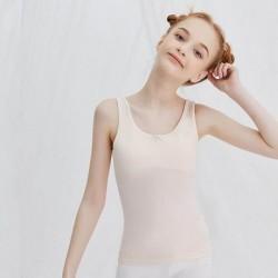 Cream Girls UnderShirt Tank