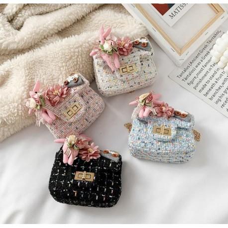 Flowers Bunny Sling Bag