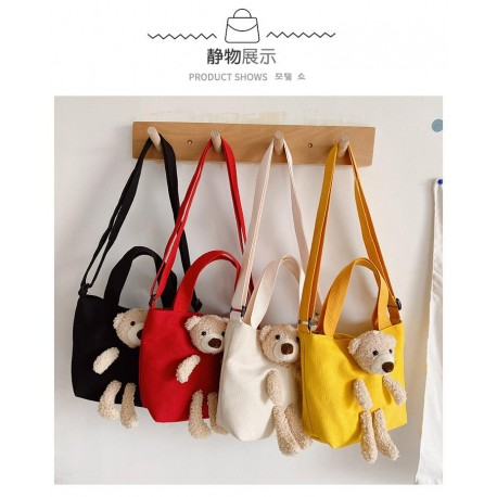 Teddy Bear Kanvas Bag