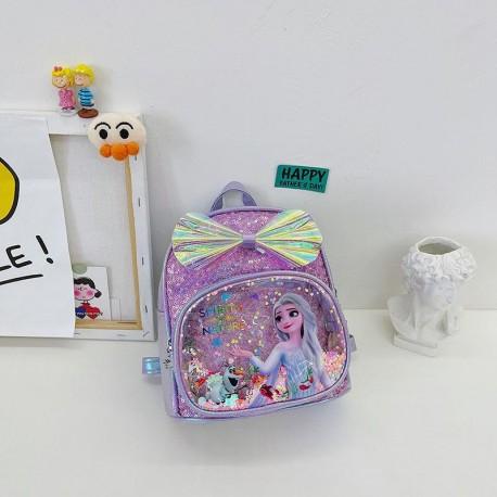 Elsa Olaf Glittery Backpack