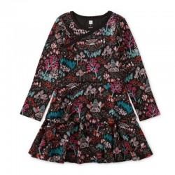 Tea Black Tree Dress